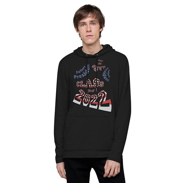 Future President 2022 Abstract Lightweight Hoodie