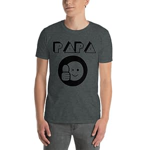 Papa Thumbs up Round Icon T-Shirt