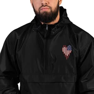Stars and Stripes US Flag Embroidered Jacket
