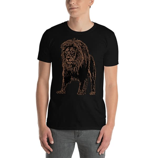 Lion African Drawing T-Shirt