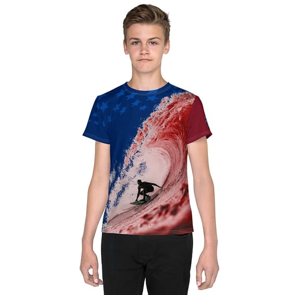 Surfing America Youth T-shirt