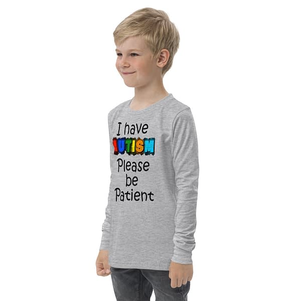 Autism be Patient Youth Long Sleeve Tee