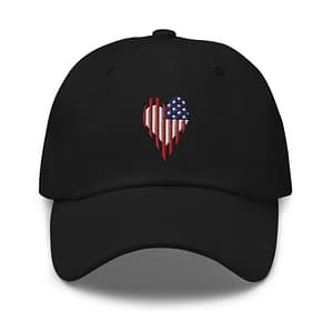 Stars and Stripes US Flag Dad Hat
