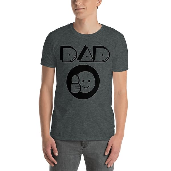 Dad Thumbs up Round Icon T-Shirt