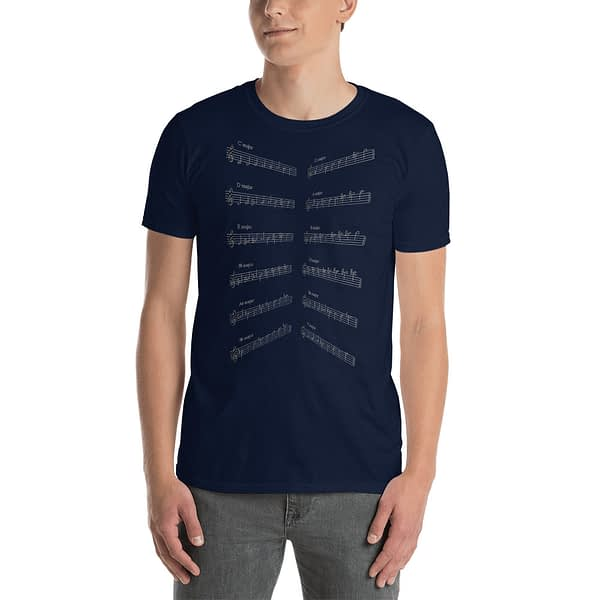 Music Major Scales T-Shirt