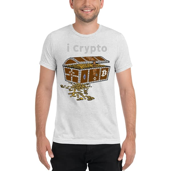 Crypto Currency Gold Chest T-shirt