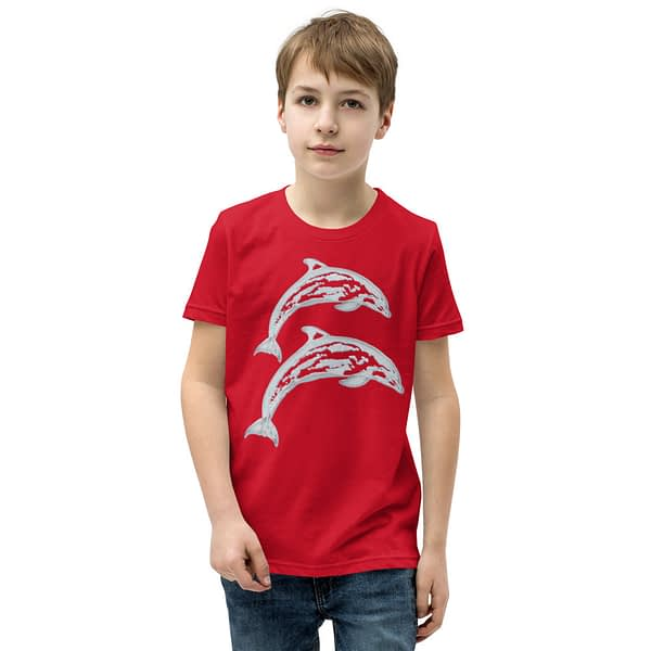 Dolphin Jump Youth T-Shirt