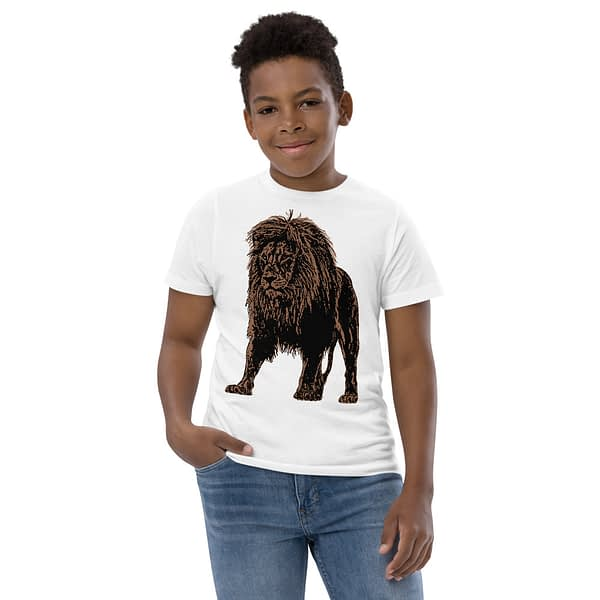 Lion African Drawing Youth T-shirt