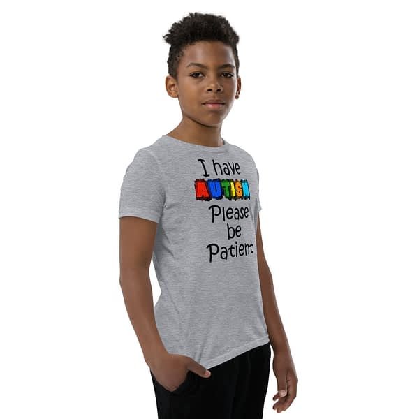 Autism be Patient Youth T-Shirt