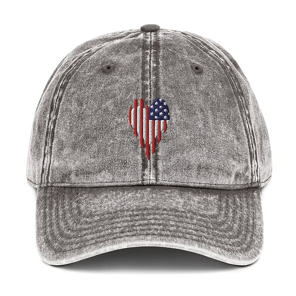 Stars and Stripes US Flag Vintage Cotton Twill Cap