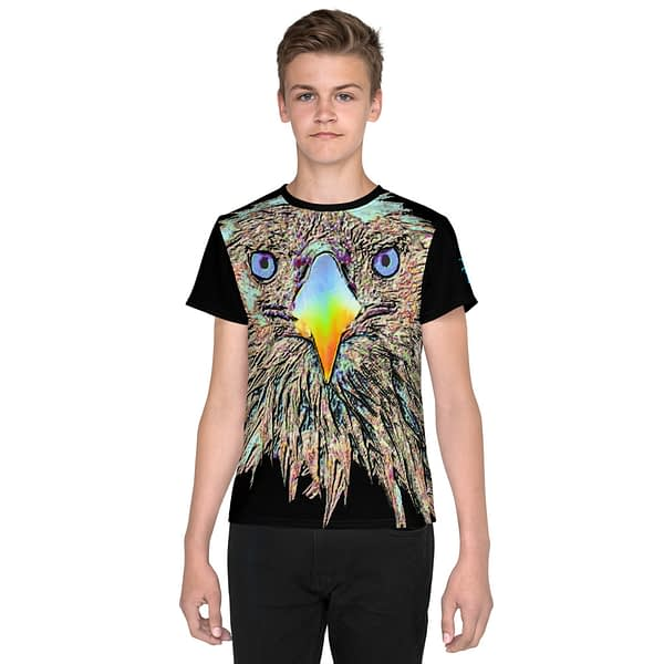 Eagle Colorful Youth T-shirt