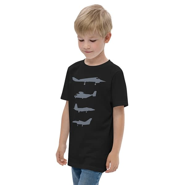 Warcraft Airplanes USA Air Force Youth T-shirt