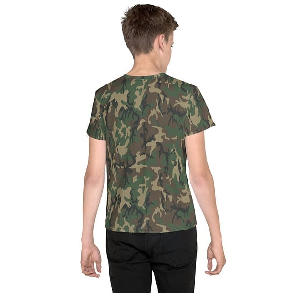 Camo Army Hunter See Me Youth T-shirt